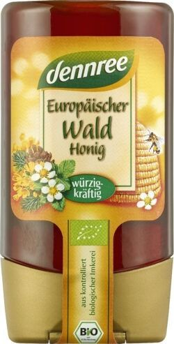 dennree Waldhonig, würzig-kräftig 12x250g