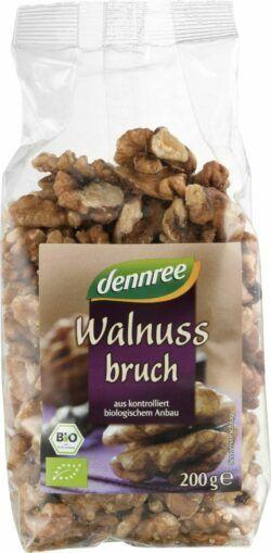 dennree Walnusskernbruch 6x200g