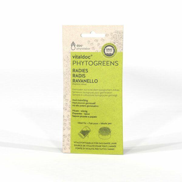 doc phytolabor vitaldoc PHYTOGREENS Radies 12x60g