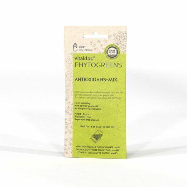 doc phytolabor vitaldoc PHYTOGREENS Antioxidans-Mix 12x50g