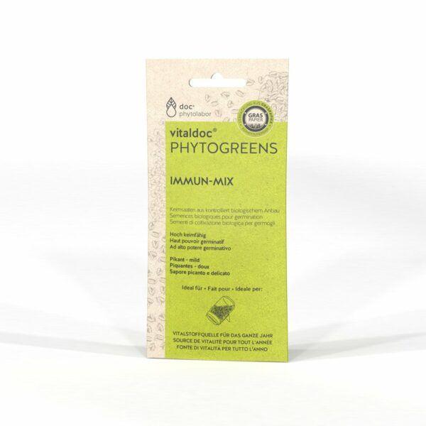 doc phytolabor vitaldoc PHYTOGREENS Immun-Mix 12x50g