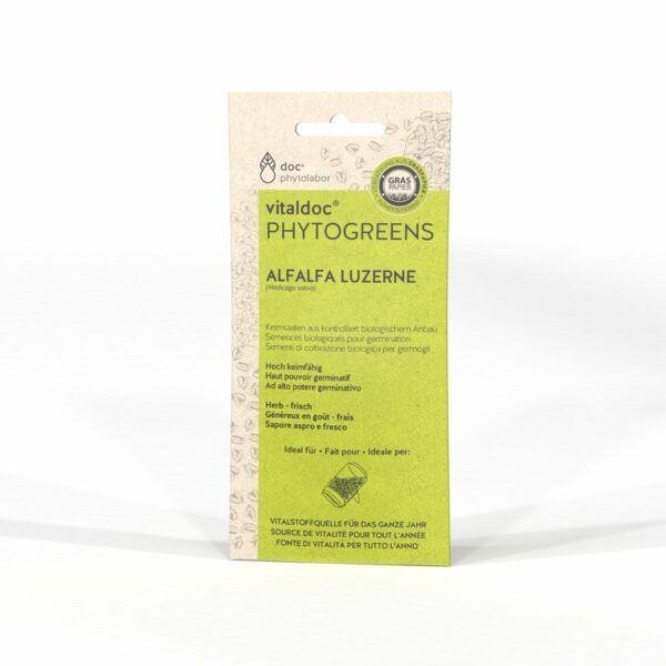 doc phytolabor vitaldoc PHYTOGREENS Alfalfa 12x65g