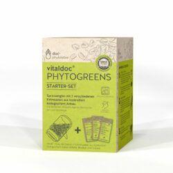 doc phytolabor vitaldoc PHYTOGREENS Starterset 6x1GlasmitDeckel