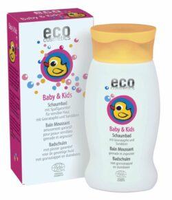 eco cosmetics Baby & Kids Schaumbad mit Granatapfel und Sanddorn 200ml