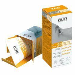 eco cosmetics Sonnencreme LSF 20 mit Sanddorn und Olive 75ml