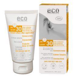 eco cosmetics Sonnencreme LSF 30 mit Sanddorn und Olive 75ml