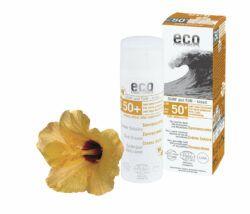 eco cosmetics Sonnencreme LSF 50+ getönt Surf & Fun mit Granatapfel und Macadamia 50ml