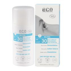 eco cosmetics Sonnenlotion LSF 30 neutral ohne Parfum 100ml