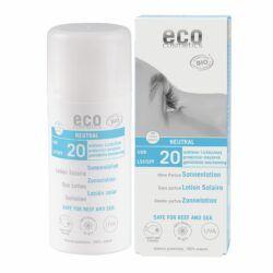 eco cosmetics Sonnenlotion LSF 20 neutral ohne Parfum 100ml