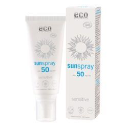 eco cosmetics Sonnenspray LSF 50 sensitive 100ml