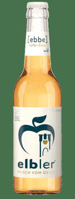 elbler® {ebbe} Cider 2,5 % vol. 24x0,33l