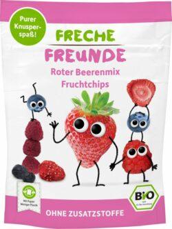 erdbär Freche Freunde FF Bio Roter Beerenmix Fruchtchips 12x10g
