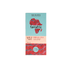 fairafric 43% Bio-Schokolade mit Milch 10x80g