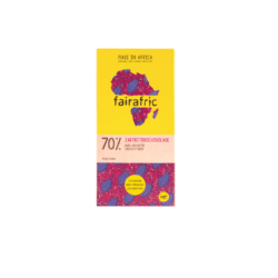 fairafric 70% Kakaoanteil (mild) Zartbitterschokolade BIO 10x80g