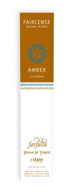 farfalla Amber / Cocooning, Faircense Räucherstäbchen 1Stück