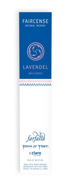farfalla Lavendel / Anti-Stress, Faircense Räucherstäbchen 1Stück