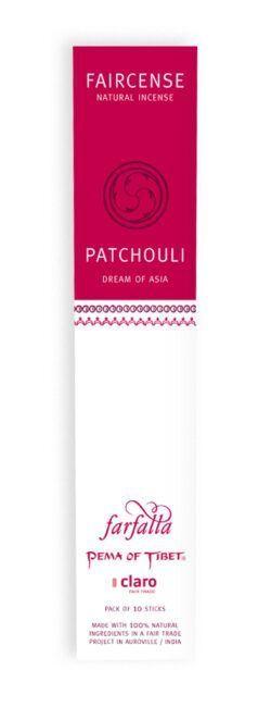 farfalla Patchouli / Dream of Asia, Faircense Räucherstäbchen 1Stück