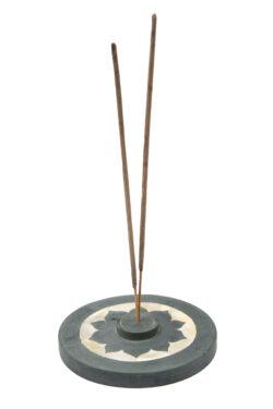 farfalla Räucherstäbchenhalter Lotus (mit Schachtel) 1Stück