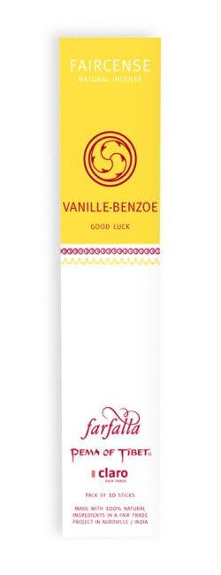 farfalla Vanille/Benzoe / Good Luck, Faircense Räucherstäbchen 1Stück