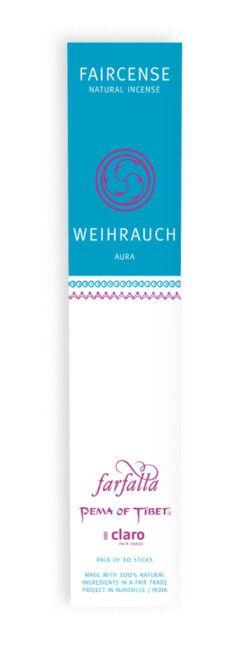 farfalla Weihrauch / Aura, Faircense Räucherstäbchen 1Stück