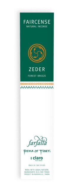farfalla Zeder / Forest Breeze, Faircense Räucherstäbchen 1Stück
