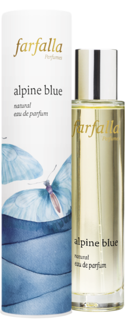 farfalla alpine blue, natural eau de parfum 50ml