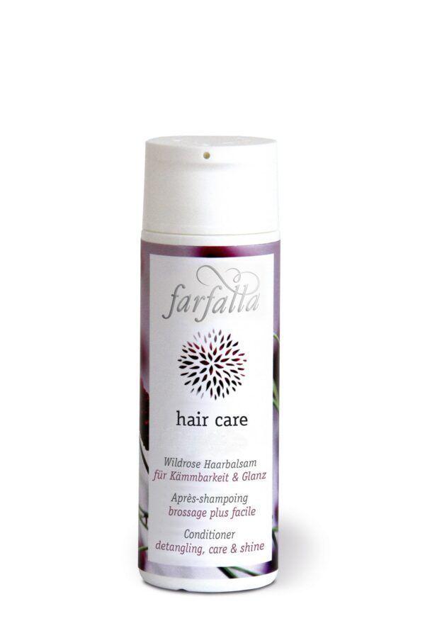 farfalla hair care, Wildrose Haarbalsam 200ml