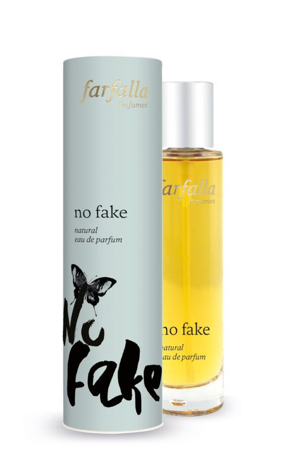farfalla no fake, natural eau de parfum 50ml