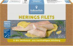 followfish Heringfilet in Bio-Senfsauce, aus nachhaltigem Wildfang 10x200g
