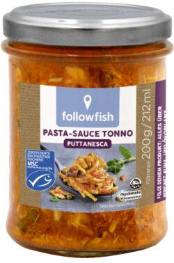 followfish MSC Pasta-Sauce Tonno Puttanesca 6x200g