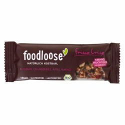 foodloose Bio-Nussriegel Frisco Crisp von 24x35g