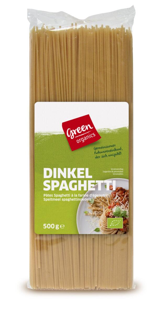 greenorganics Dinkel Spaghetti hell 500g