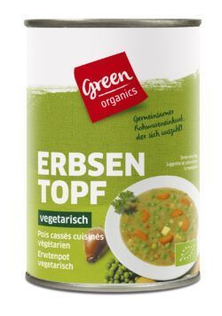 greenorganics Erbsentopf 6x400g