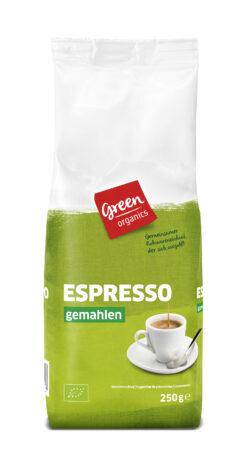 greenorganics Espresso gemahlen 6x250g