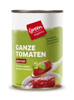 greenorganics Ganze Tomaten geschält 12x400g