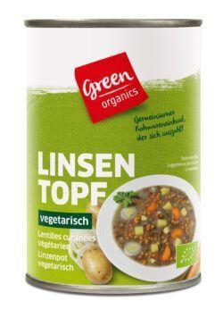 greenorganics Linsentopf 6x400g