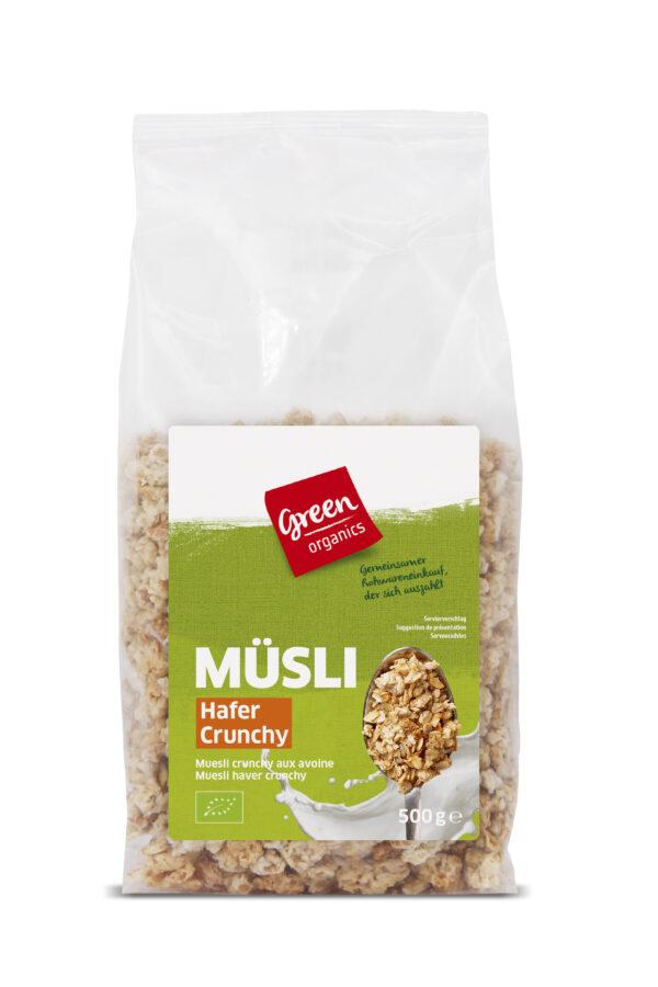 greenorganics Müsli Hafer Crunchy 6x500g