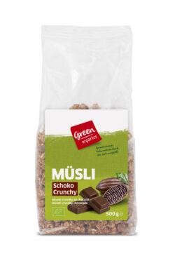 greenorganics Müsli Schoko Crunchy 6x500g
