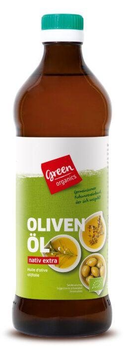 greenorganics Olivenöl nativ extra 6x500ml