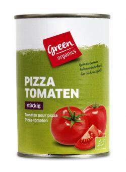 greenorganics Pizza Tomaten stückig 12x400g