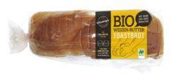 herzberger Weizen-Buttertoast 500g, Bio 4x500g