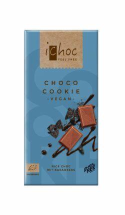iChoc Choco Cookie - Rice Choc 10x80g