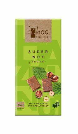 iChoc Super Nut - Helle Rice Choc 10x80g