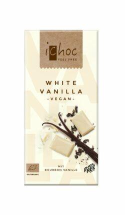 iChoc White Vanilla 10x80g