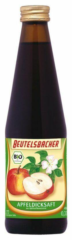 BEUTELSBACHER Bio Apfel-Dicksaft 12x0,33l