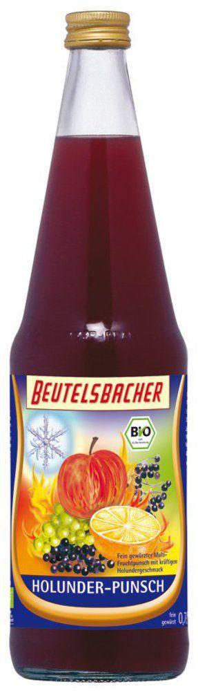 BEUTELSBACHER Bio Holunder-Punsch 6x0,7l