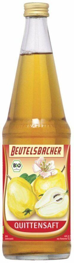 BEUTELSBACHER Bio Quittensaft klarer Direktsaft 6x0,7l