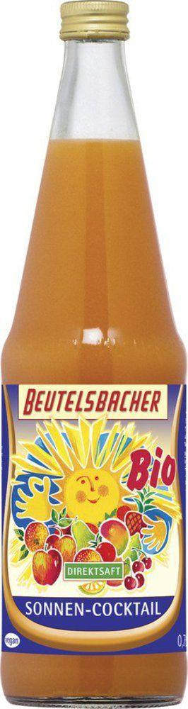 BEUTELSBACHER Bio Sonnen-Cocktail Direktsaft 6x0,7l