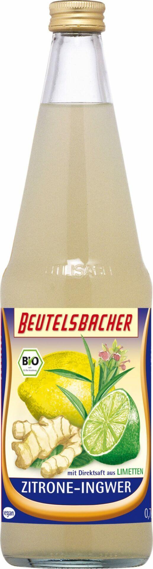 BEUTELSBACHER Bio Zitrone-Ingwer 6x0,7l