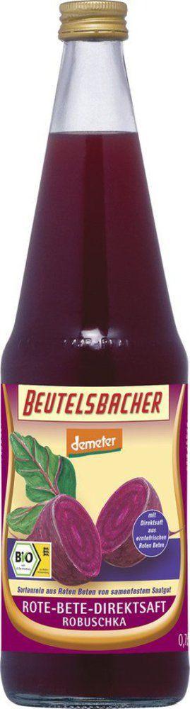 BEUTELSBACHER Demeter Rote-Bete Robuschka Direktsaft 6x0,7l